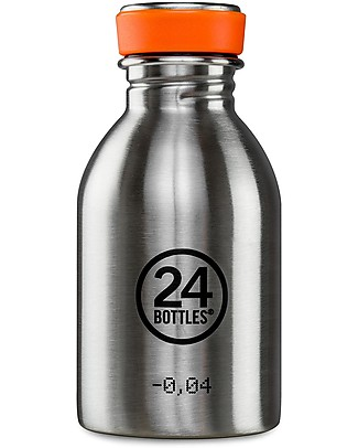 24Bottles Stainless Steel Urban Bottle, 250 ml Metal Bottles