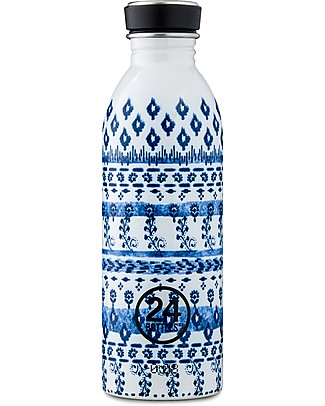 24Bottles Stainless Steel Urban Bottle, 500 ml - Indigo Metal Bottles