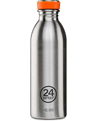 24Bottles Stainless Steel Urban Bottle, 500 ml Metal Bottles