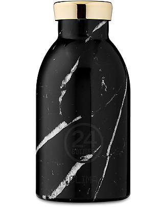 24Bottles Thermal Clima Bottle for Kids, 330 ml - Marble Black null