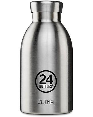 24Bottles Thermal Clima Bottle for Kids, 330 ml - Steel null