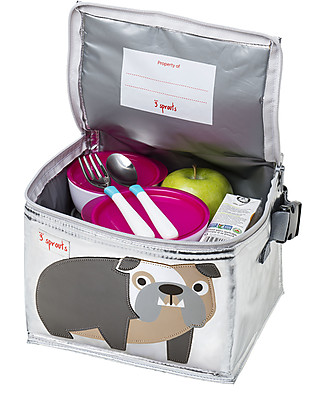 3 Sprouts Insulated Lunch Box - Bulldog Lunch Boxes