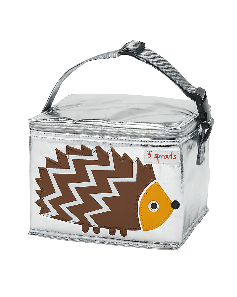 3 Sprouts Insulated Lunch Box - Hedgehog unisex