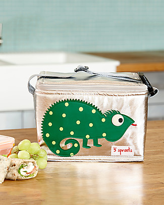 3 Sprouts Insulated Lunch Box - Iguana Lunch Boxes