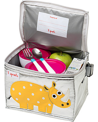 3 Sprouts Insulated Lunch Box - Rhino Lunch Boxes