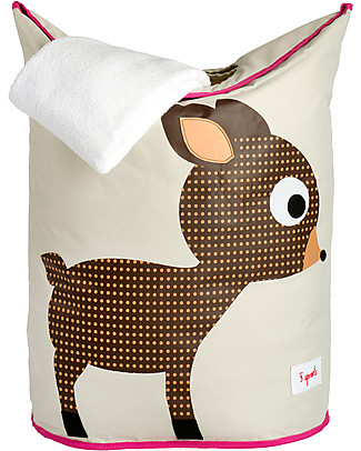 3 Sprouts Laundry Hamper Deer - No more mess, and lots of cuteness! Toy Storage Boxes