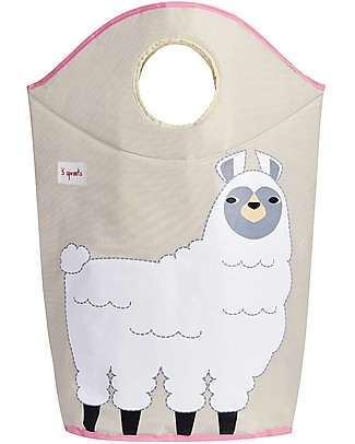 3 Sprouts Laundry Hamper Llama - No more mess, and lots of cuteness! Toy Storage Boxes
