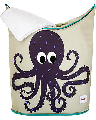 3 Sprouts Laundry Hamper Octopus - No more mess, and lots of cuteness! Toy Storage Boxes