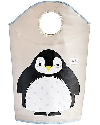3 Sprouts Laundry Hamper Penguin - No more mess, and lots of cuteness! Toy Storage Boxes