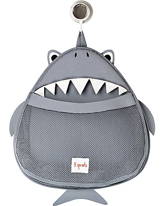 3 Sprouts Shark Bath Storage - 100% Neoprene (protects from mould)! null