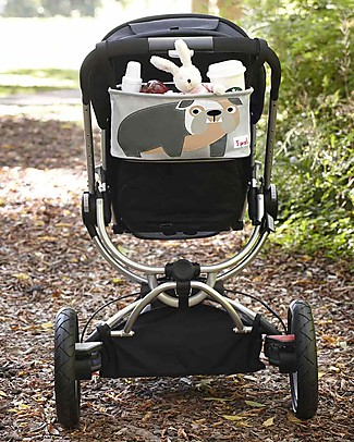 3 Sprouts Stroller Organizer - Bulldog - Suitable for all Strollers! Stroller Accessories