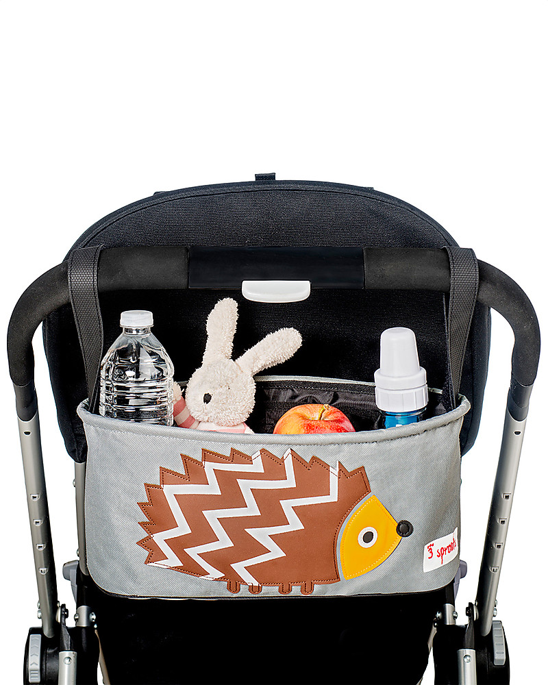 b8f6bf579c3 3 Sprouts Stroller Organizer - Hedgehog - Suitable for all Strollers!  Stroller Accessories