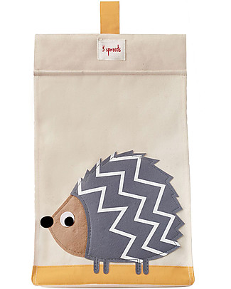3 Sprouts Universal Diaper Stacker, Grey Hedgehog – Cotton canvas Changing Tables