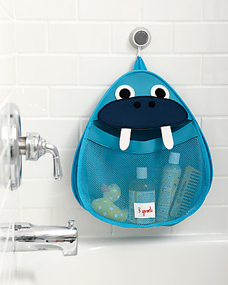 3 Sprouts Walrus Bath Storage - 100% Neoprene (protects from mould)! null