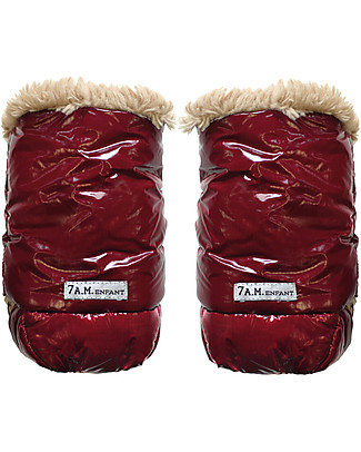 7AMenfant Water Resistant Warmmuff HM200, Bordeaux Footmuffs