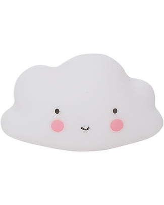 A Little Lovely Company Bath Toy, Cloud - White null
