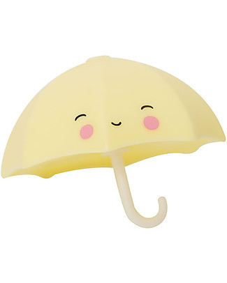 A Little Lovely Company Bath Toy, Umbrella - Yellow null