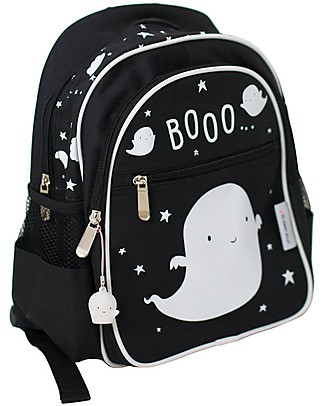 A Little Lovely Company Big Backpack, Ghost 25 x 31.5 x 15.5 cm  null