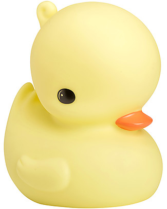 A Little Lovely Company Big LED Light, Duck - Yellow Bedside Lamps