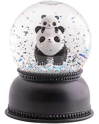 A Little Lovely Company Big LED Light, Snowglove, Panda - Black Party Favours