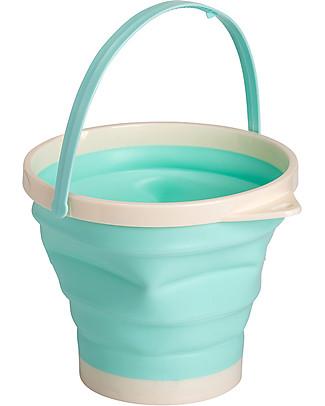 A Little Lovely Company Bucket and Spade Set: Mint Beach Toys