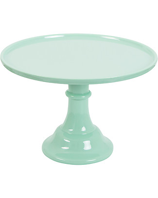 A Little Lovely Company Cake Stand Large - Mint Bowls & Plates