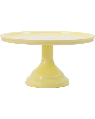 A Little Lovely Company Cake Stand Small - Yellow Bowls & Plates