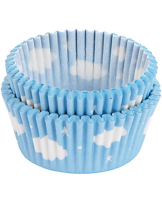 A Little Lovely Company Celebrations 50 Cupcake Cases - Cloud  Bowls & Plates