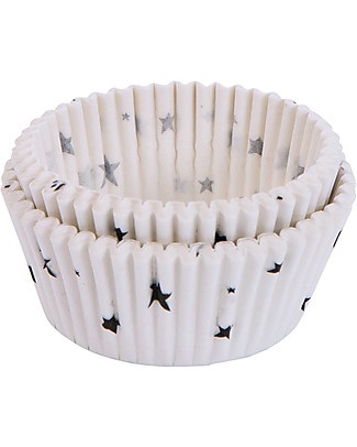 A Little Lovely Company Celebrations 50 Cupcake Cases - Panda	 Bowls & Plates