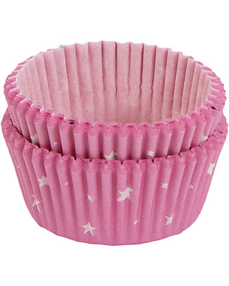 A Little Lovely Company Celebrations 50 Cupcake Cases - Stars Bowls & Plates