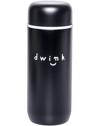 A Little Lovely Company Insulated Drink Bottle in Stailess Steel, 200 ml - Drink Thermos Bottles