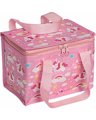 A Little Lovely Company Insulated Lunch Box, Unicorn - Pink null