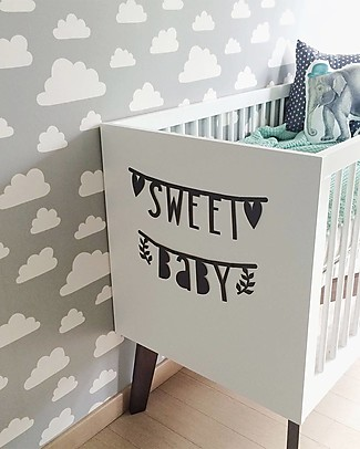 A Little Lovely Company Letter Banner - Black - Make your own phrase Bunting