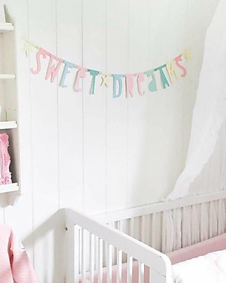 A Little Lovely Company Letter Banner - Pastel - Make your own phrase Bunting