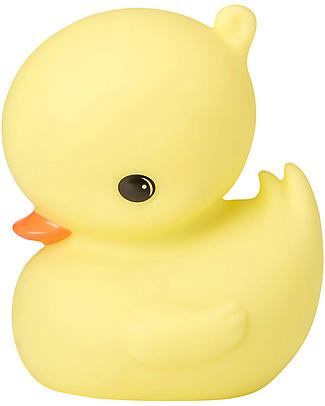 A Little Lovely Company Little LED Light, Duck - Yellow Bedside Lamps