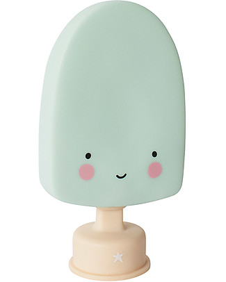 A Little Lovely Company Little LED Light, Popsicle - Mint Bedside Lamps