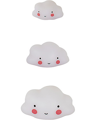 A Little Lovely Company Minis, 3 Little Clouds - White Room Decorations