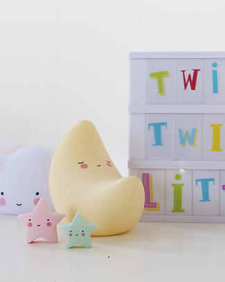 A Little Lovely Company Minis, 3 Little Stars - Pink Room Decorations