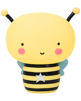 A Little Lovely Company Moneybox, Bee - Yellow/Black Money Box