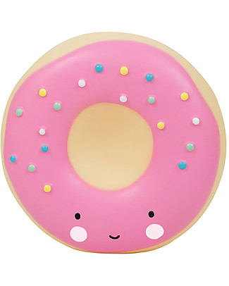 A Little Lovely Company Moneybox, Donut - Pink Money Box