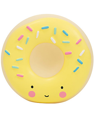 A Little Lovely Company Moneybox, Donut - Yellow Money Box