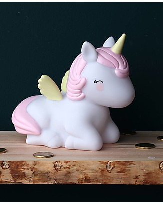 A Little Lovely Company Moneybox, Unicorn - Pink Money Box