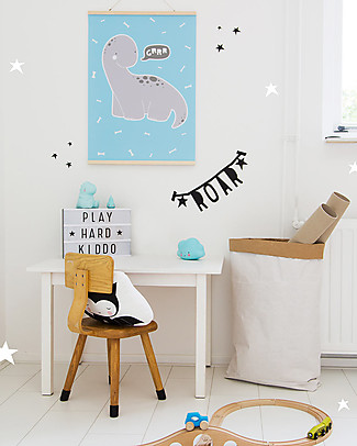 A Little Lovely Company Poster Baby Brontosaurus - 50x70 cm Posters