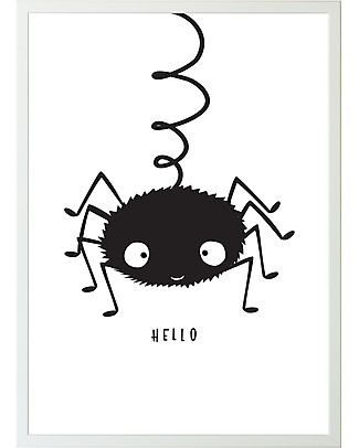 A Little Lovely Company Poster Spider - 50x70 cm  Posters
