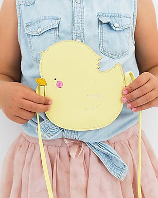 A Little Lovely Company Shoulder Bag, Duck - Yellow Messenger Bags