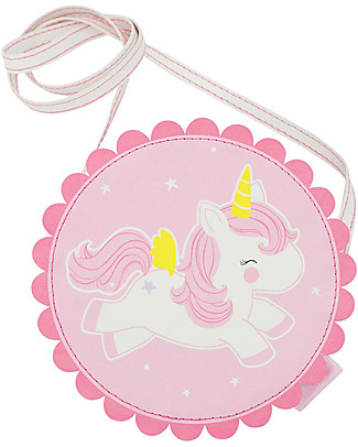 A Little Lovely Company Shoulder Bag, Unicorn - Pink Messenger Bags