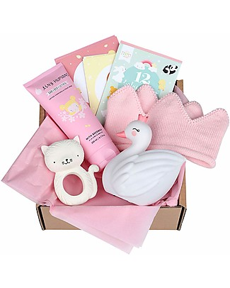 A Little Lovely Gift Box Baby gift box: Welcome little girl - Extra Large Gift Box