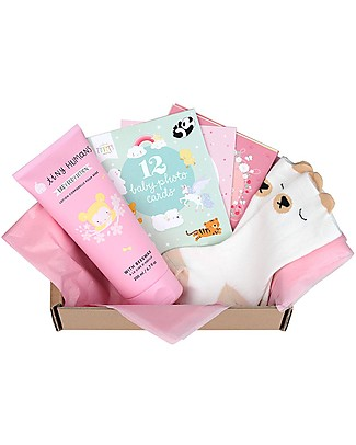 A Little Lovely Gift Box Baby gift box: Welcome little girl - Small Gift Box