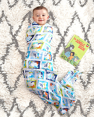 Aden & Anais Jungle Book Classic Swaddles Set of 4 Multi-use 100% Cotton Muslin Swaddles