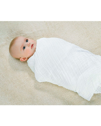 Aden & Anais Lovely Musy - Multi-use Muslin Cloths - 3 pack - 100% cotton muslin - 70 x 70 cm Muslin Cloths